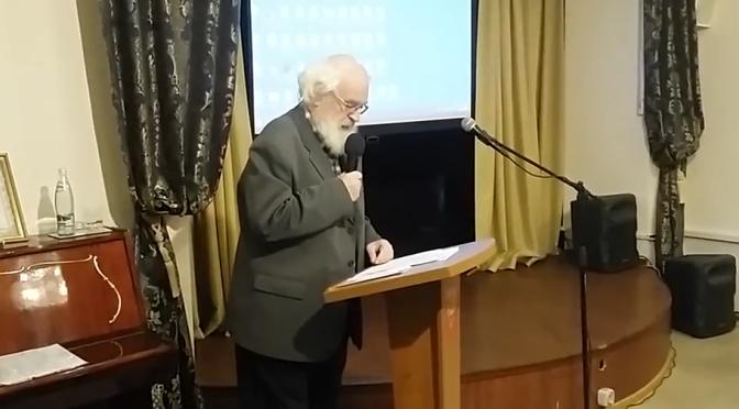 Выступление Гусева Георгия Витальевича на конференции «Борьба за народную трезвость: итоги и перспективы»
